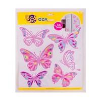 Deconation Simli Ve Taşlı Etiket Kelebeklerin Rüyaı