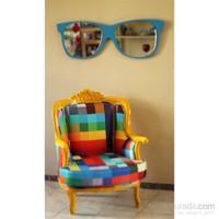 Raymond Mavi Gözlük Ayna