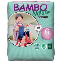 Bambo Nature No6 Alıştırma Külodu 18Kg+ / 18 Adet