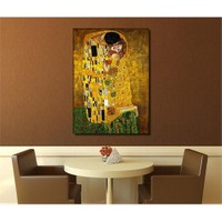 Canvastablom T132 Ustav Klimt Canvas Tablo