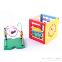Wooden Toys Multifunctional İntelligent Beads Around