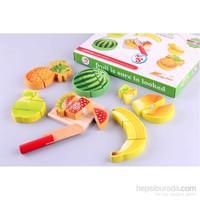 Wooden Toys Wooden Fruit Slice Set