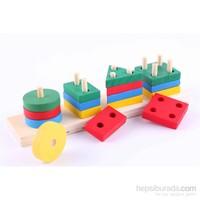 Wooden Toys Wooden Teaching Block