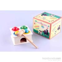 Wooden Toys Hammer Case Vertical Box