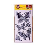 Deconation Ayna Etiket Büyük Kelebekler