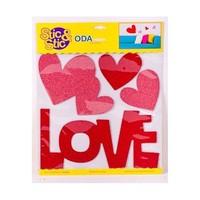 Deconation Parlak Etiket Love Sticker