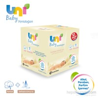 Uni Baby Yenidoğan Islak Pamuk Mendil 12'li Fırsat Paketi / 480 Yaprak