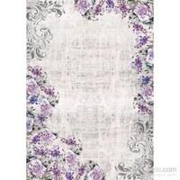 Esse Halı Garden 1801 Purple 120X180 Cm