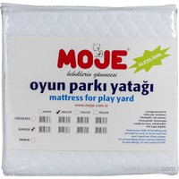 Moje Oyun Parkı Yatağı Micro Mebran Beyaz Sünger / 60*120*5