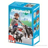 Playmobil Dağ Köpeği ile Yavrusu