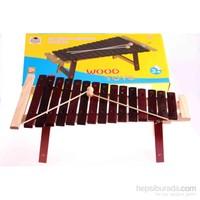 Wooden Toys Preschool Education On Piano
