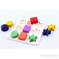 Learning Toys Geometrical Shape Building Block