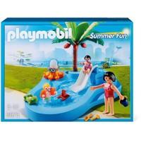 Playmobil Kaydıraklı Bebek Havuzu