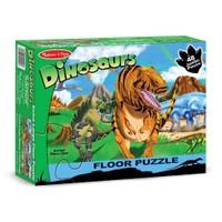 Melissa&Doug Dev Yer Yapbozu- Dinozor Dünyası (48 Parça)