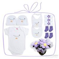 Baby Corner Klasik Bebek Buketi- Lila