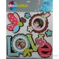 Stic&Stic Love Çerçeve Sticker