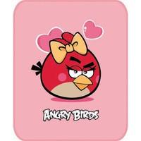 Aksu Bebek Lisanslı Battaniye Angry Birds Pembe