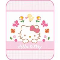 Aksu Bebek Lisanslı Battaniye Hello Kitty Fancy