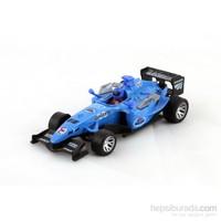 Furkan 1/32 Formula Çek Bırak Araba Sesli & Işıklı Mavi