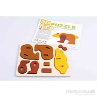 Nani Toys Ahşap 3D Bulmaca Seti