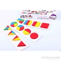 Nani Toys Ahşap Geometrik Şekil Paketi