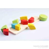Nani Toys Büyük Ahşap Montessori Geometri Seti