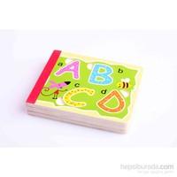 Nani Toys Ahşap Alfabe Bulmaca Kitabı