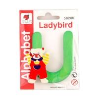 Ladybird Bebek Odası Ahşap Dekoratif Harfleri U