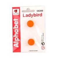 Ladybird Ahşap Dekoratif Harfleri (:)