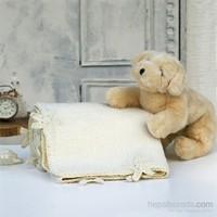 İkikız Yıldız Koyun Tüyü Cozy Battaniye