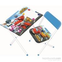 Furkan Harika Kanatlar Masa ve Sandalye Seti