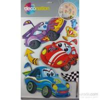 Stic&Stic Sevimli Arabalar Sticker