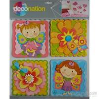 Stic&Stic Çiçek Kız Sticker