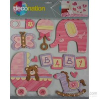 Stic&Stic Pembe Bebek Sticker