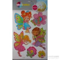 Stic&Stic Renkli Peri Kızı Sticker