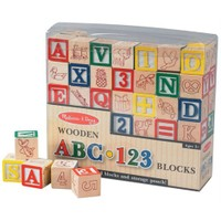 Melissa & Doug Ahşap Bloklar Abc-123