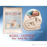 Koza-Cotton Pamuk Bebek Yatak Alez-Ped