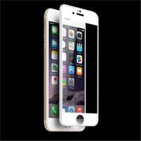 Bestsuit İphone 6/6S Curved 3D Full Fit Ekran Koruyucu-Beyaz