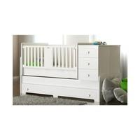 Babi Baby Cemre 80X180'e Büyüyebilen Bazalı Beşik Kod:2802