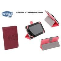 Addison Ip-262 Mor 10` Tablet Pc Kılıfı Standlı