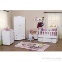 Babyhope 920 Standart Beşikli Bebek Odası Takımı ( Full Avantaj Paketi )