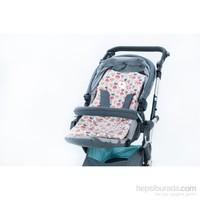 Moms Cotton Bebek Arabası Cocuk Sandalyesi Minderi Cupcake