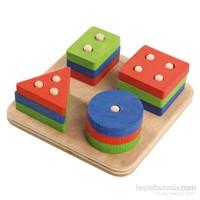 Neva Toys Geometrik Şekiller - Çok Pimli