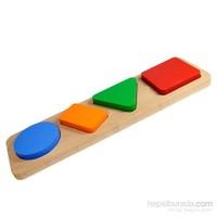 Neva Toys Geometrik Şekiller - Mini