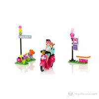 Mega Bloks Barbie Scooter Oyun Seti
