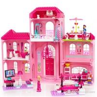 Mega Bloks Barbie'nin Lüks Malikanesi 301 Parça Oyun Seti