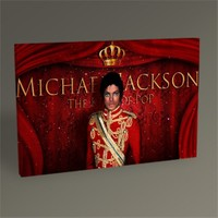 Tablo 360 Michael Jackson Tablo 45X30
