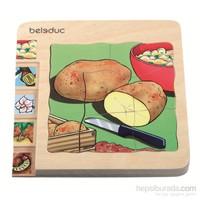 Beleduc Katlı Puzzle-Patates15x15 Cm