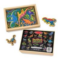 Melissa&Doug Ahşap Mıknatıslı Dinozorlar
