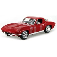 1965 Chevrolet Corvette 1:18 Kırmızı